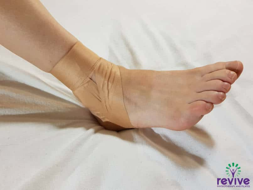 How to Tape your Ankle - Anchors - Revive Physiotherapy and Pilates
