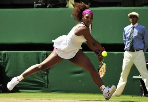 Venus Williams, Backhand - Anti-rotational exercises - Revive Physiotherapy and Pilates