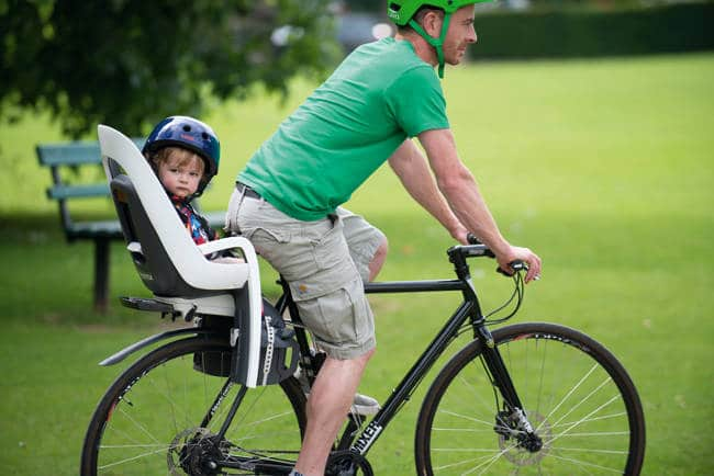 Bike Riding Baby Seat - The Dad Bod - Revive Physiotherapy and Pilates