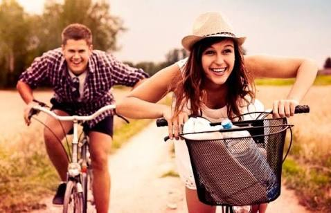 Tackling depression with exercise - bike riding