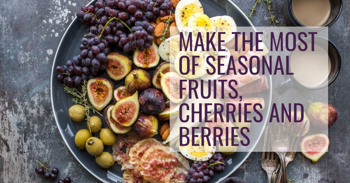Make the most of seasonal fruits during a Summer Christmas!