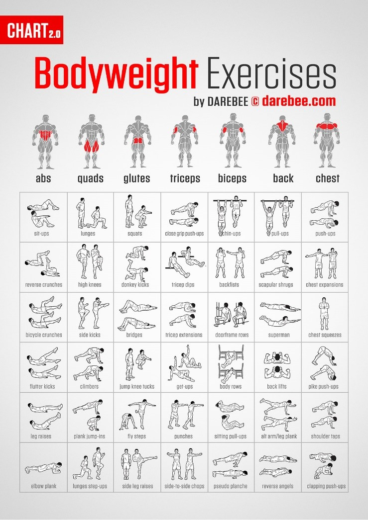 Darebee Bodyweight Exercises - Revive Physiotherapy and Pilates