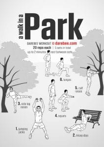 Darebee Park Workout - Revive Physiotherapy and Pilates
