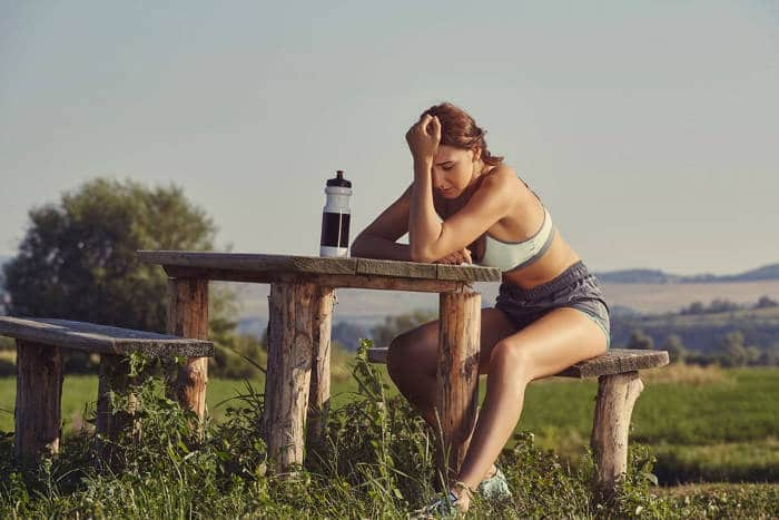 Beat the Heat - Exhausted Female Runner