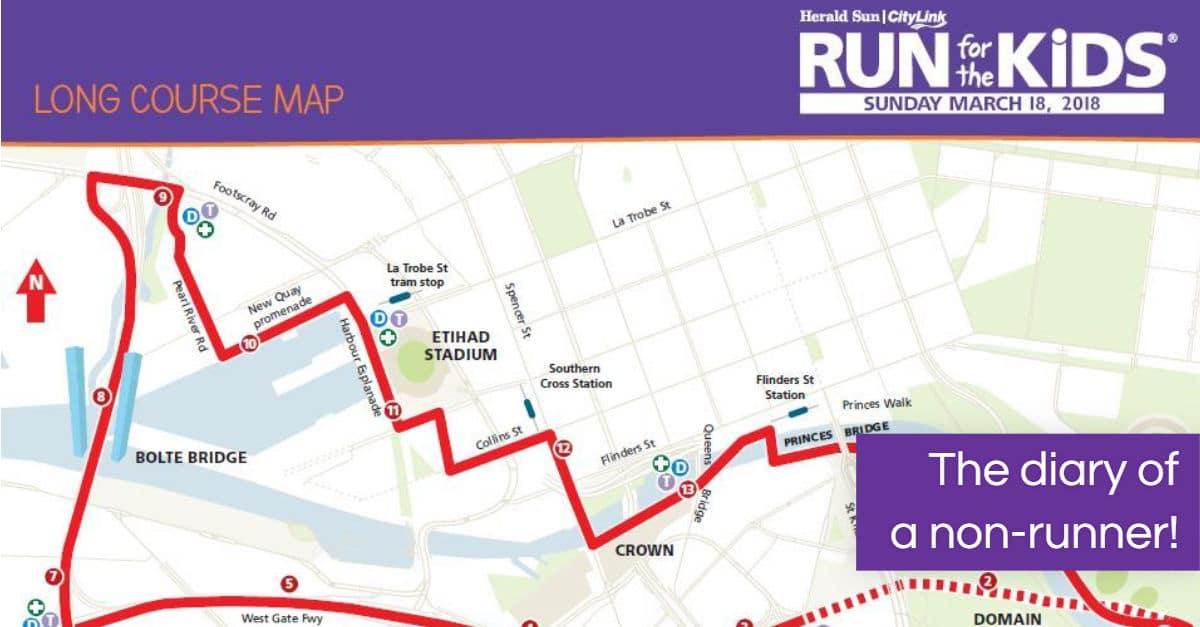 Run for the Kids - Training Diary - 2018