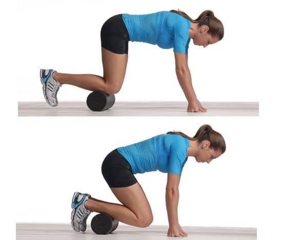 Knee stretch (intermediate)